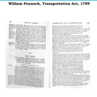 William Pennock's Transportation Act, 1789.pdf