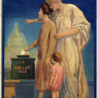 League of Women Voters Poster, 1920<br />