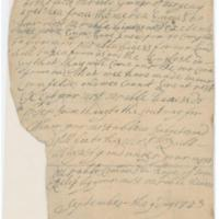 Meherrin Indians, Petition to the Governor of Virginia, 1723