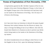 Terms of capitulation Fort Necessity Transcription.pdf