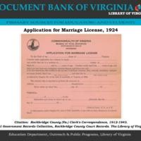 Application for Marriage License, 1924 PDF DBVa.pdf