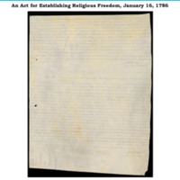 An Act for Establishing Religious Freedom,January 16, 1786.pdf