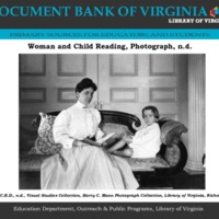 A woman and child, reading a book.pdf