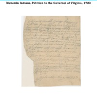 MEHERRIN PETITION, 1723 Transcription.pdf