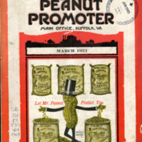 Planters Peanuts Advertisement, National Nut News, 1921