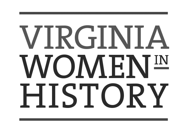 Virginia Women in History logo