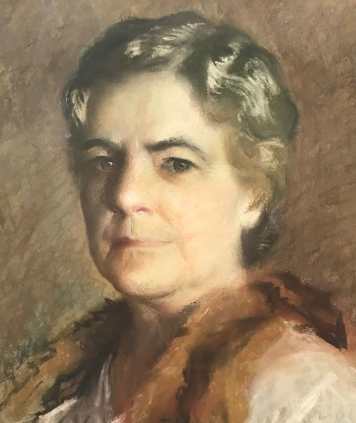 portrait of Fannie B. King