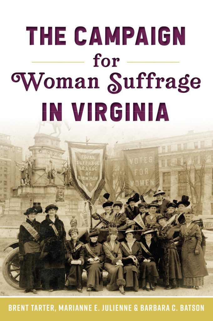 Book cover of The Campaign for Woman Suffrage in Virginia