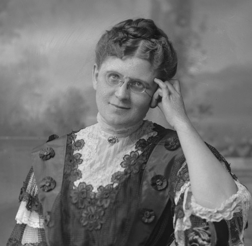 photograph of Mary Ellen Pollard Clarke